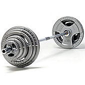 exercise 145kg Olympic Weight Set with 7ft Olympic Bar