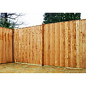 5FT Pressure Treated Vertical Hit & Miss Panels - 1 Panel Only 5'