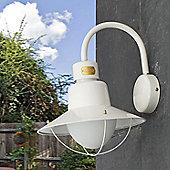 Faro Newport One Light Wall Lamp - White