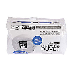 Homescapes 10.5 Tog Hollowfibre Super King Autumn Duvet