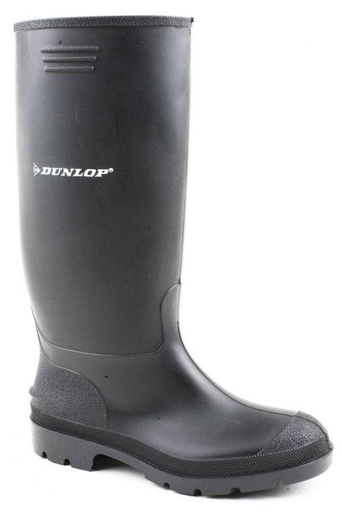 Dunlop Pricemaster Black Mens Wellington Boots