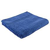 Tesco Hygro 100% Cotton Bath Towel, Sapphire