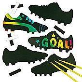 Football Boot Scratch Art Magnets (Pack of 10)