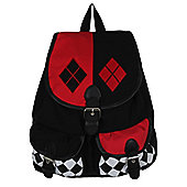Harley Quinn Logo Satchel Backpack