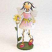 Girl with Flower Garden Ornament