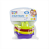 First Steps Bathtime Fun Bath Boats (Pack Of 4)