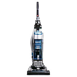 Hoover TH71BR02 Breeze Bagless Pets Upright Vacuum Cleaner - Black, Silver & Blue