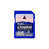 Kingston 4GB SDHC Media Card (Class 4) CBID:5870