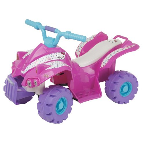 Hello Kitty Battery Operated Quad Bike Ride-On