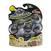 Crashlings Series 1 Monsters 4 Figures Pack