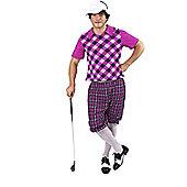 Men's Pub Golf Costume Standard