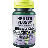 Health Plus Think Again Phosphatidyl Serine 30 Veg Tablets