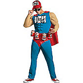 The Simpsons Duffman Costume Extra Large