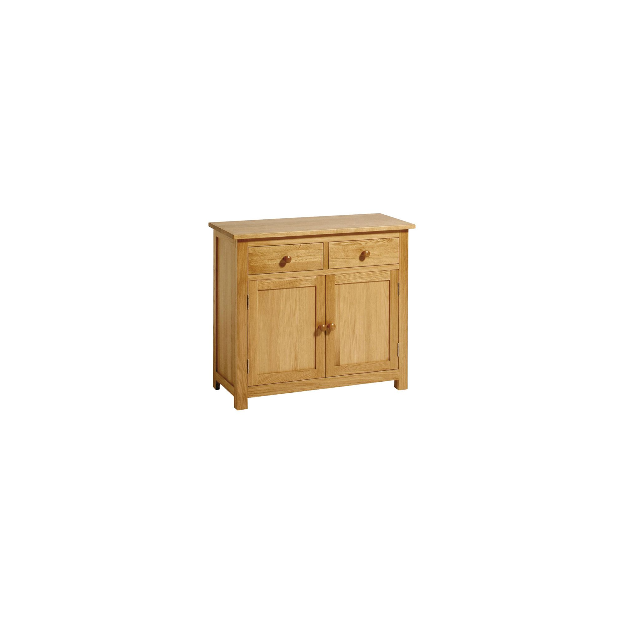 Kelburn Furniture Washington Oak 2 Drawer Sideboard at Tesco Direct
