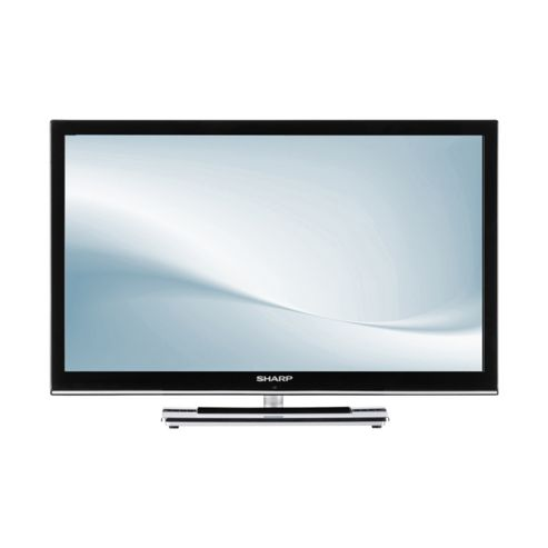 Sharp 24DV250K 24 Inch HD Ready 720p LED TV / DVD Combi With Freeview
