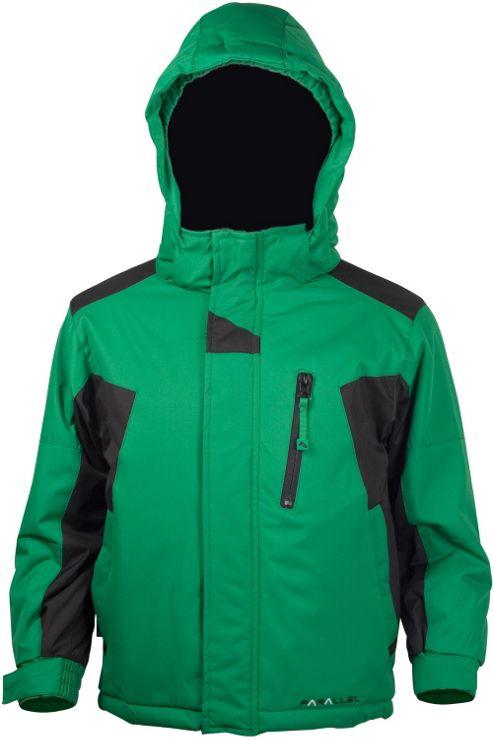 Boys Maverick Winter Ski Snowboarding Snow Warm Insulated Hooded Jacket Coat