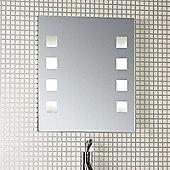 Endon Lighting Marli Square Bathroom Mirror
