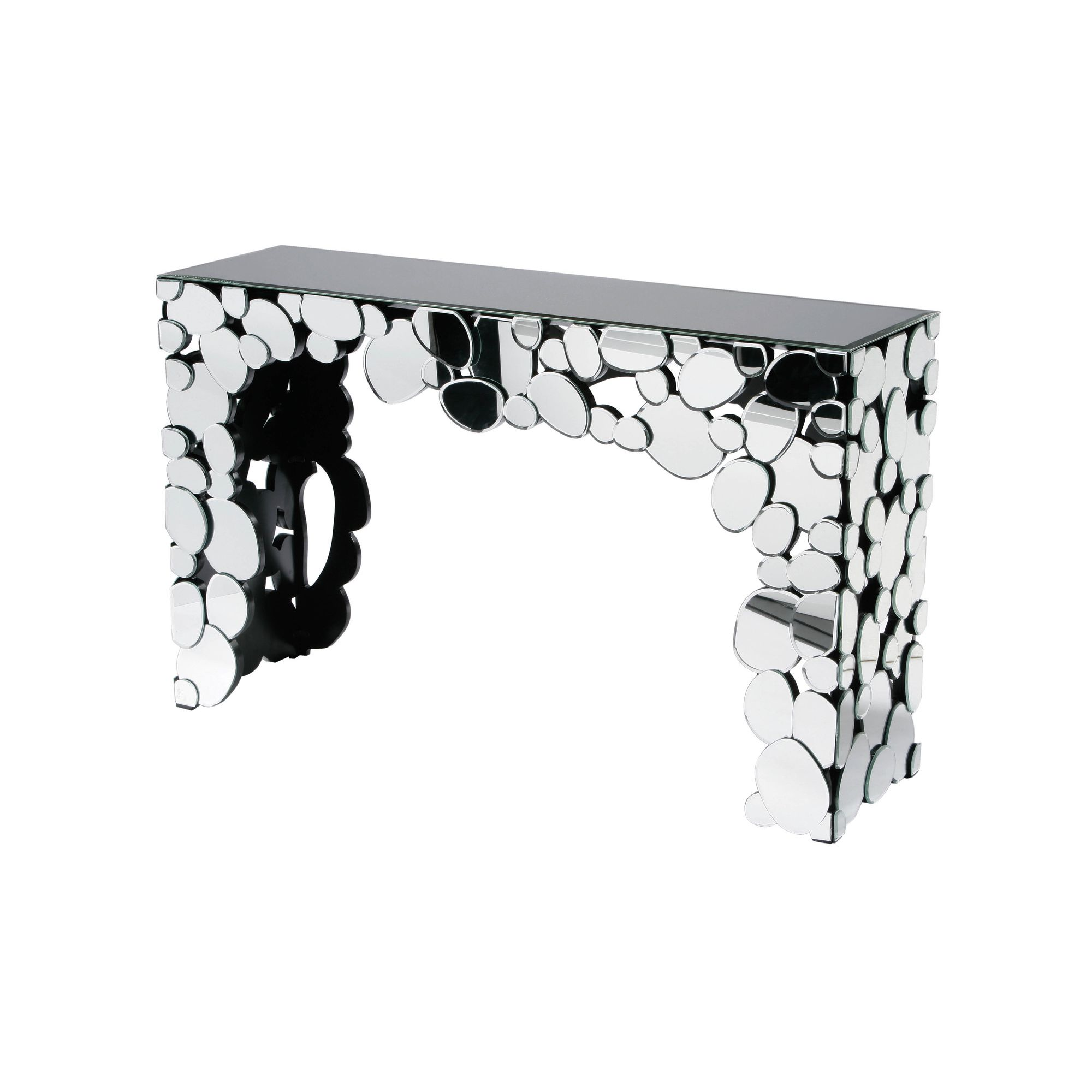 Premier Housewares Illusions Console Table at Tesco Direct