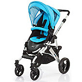 ABC Design Mamba Pushchair - Silver & Rio