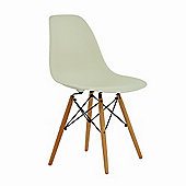 Eames DSW Replica Dining Chair Vanilla Cream