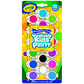 Crayola 18 Washable Kids Paint