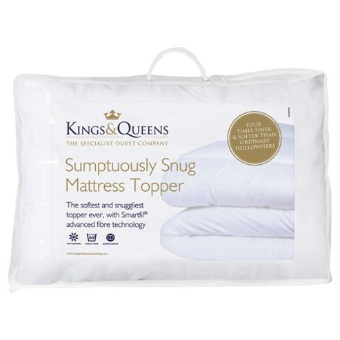 Kings & Queens Sumptuously Snug Topper King