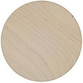 Birch Plaque 200mm 4mm thick plywood Pack of 3