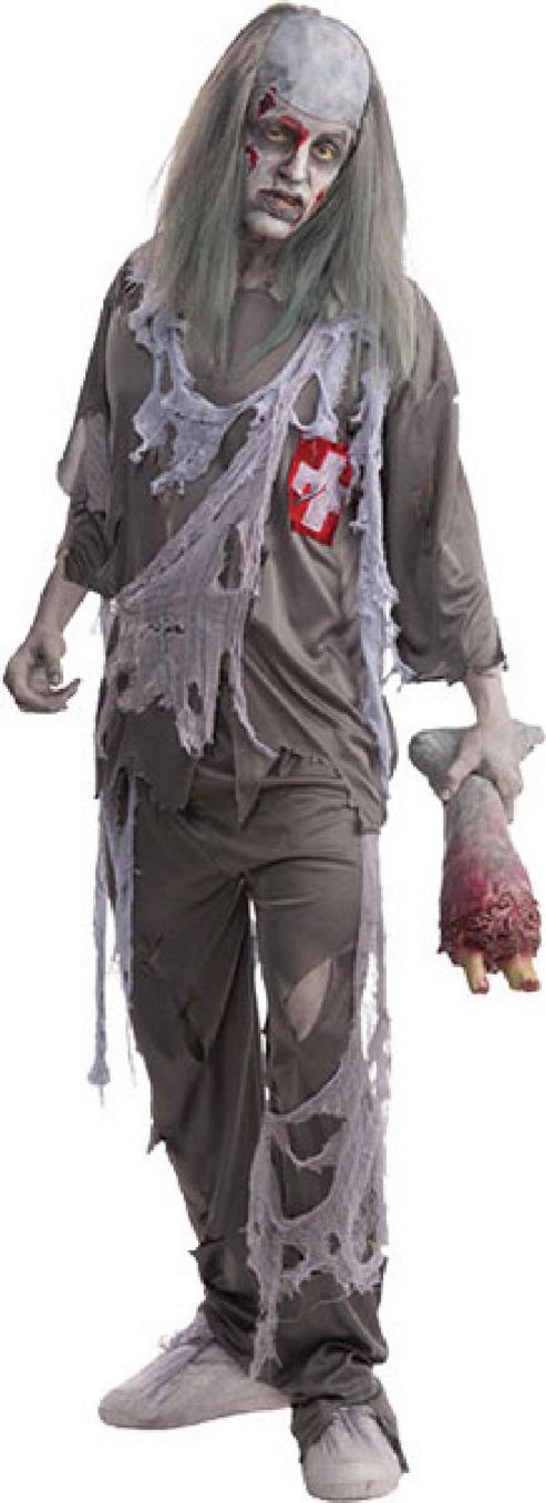 Zombie Doctor - Adult Costume Size: 40-42