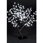 Snowtime Cherry Blossom Tree - Ice White - 67 cm H