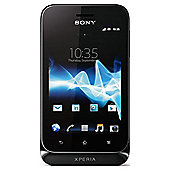 Tesco Mobile Sony Xperia™ Tipo Black