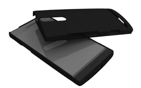Sony Ericsson Original Protective Shell Case for Sony Ericsson Xperia S - Black