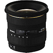 Sigma 201955 10-20mm F/4-5.6 EX DC HSM Digital Camera Lens - Nikon (D) Fit