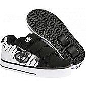 Heelys Speed White/Black Heely Shoe - White