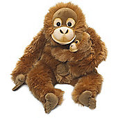 WWF Orang Utan Mother & Child Soft Toy - 25cm