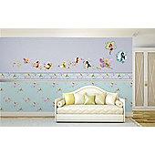 Disney Tinkerbell Butterfly Wall Border