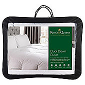 Kings & Queens Duck Down 10.5 Tog  Duvet Superking