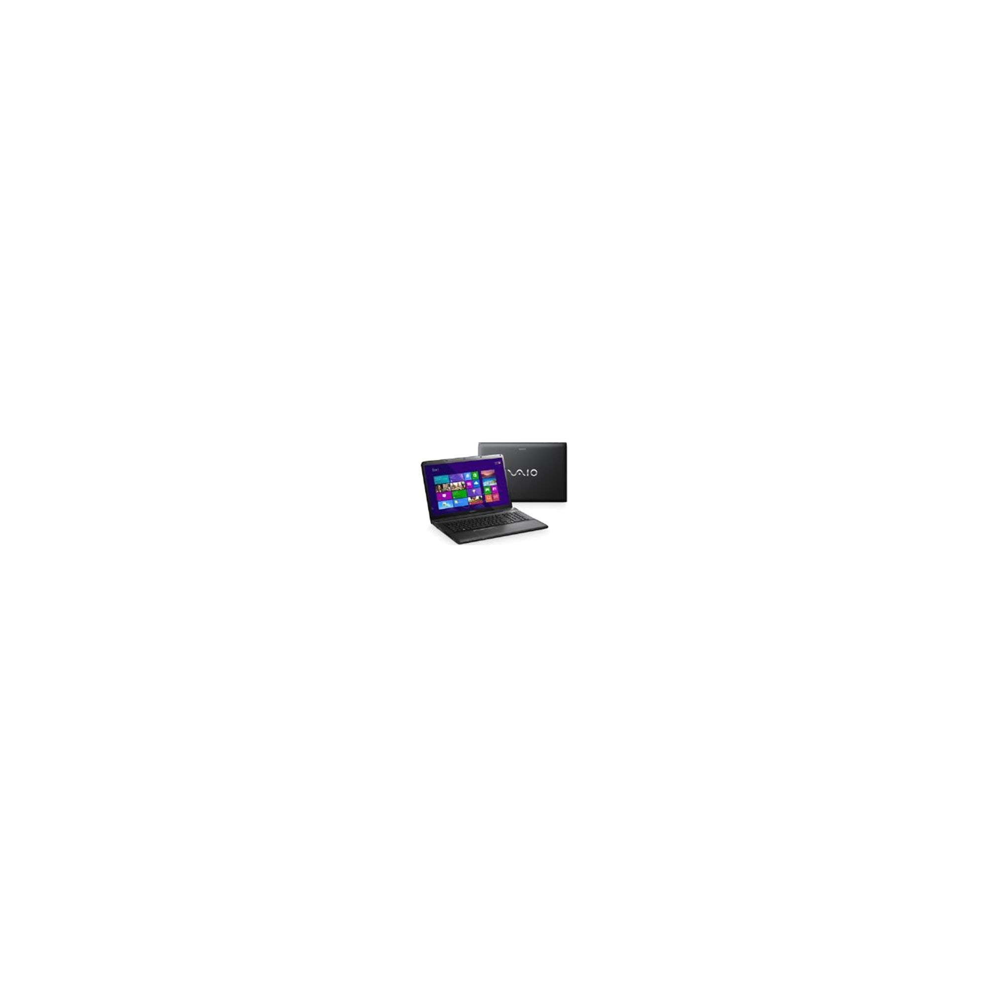 Sony Vaio SVE-1712Z1E (17.3 inch) Notebook i7 (3632QM) 2.20GHz 8GB 1TB DVD±RW WLAN BT Windows 8 (Radeon HD 7650M) (Black) at Tescos Direct