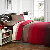 Dreams 'N' Drapes Glide Duvet Set in Red - Double