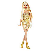 Barbie Fashionista Gold Barbie