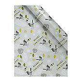 Linea Enchanted Forest Bird Wrapping Paper