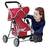 Silver Cross Cruiser Toy Pushchair Poppy Domino