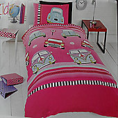 Car Mania, Girls Single Bedding