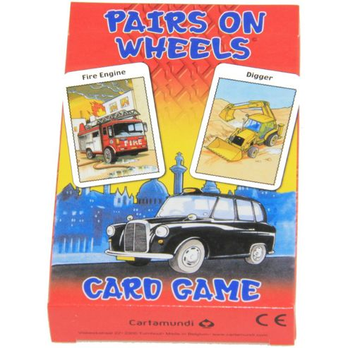 Children's Card Games - Paris On Wheels - Cartamundi