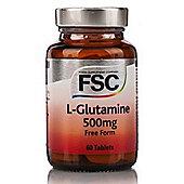Fsc Glutamine 500Mg 60 Capsules