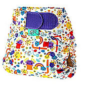 TotsBots Stretchy Wrap Incy Nappy Cover (Size 2)