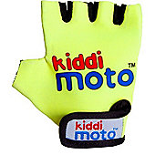 Kiddimoto Gloves Neon Yellow (Small)