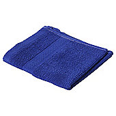 Pure Cotton Facecloth Ultra Marine