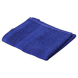 Pure Cotton Facecloth Ultra Marine