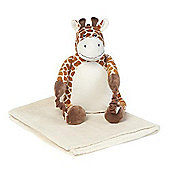Bobo Buddies Blanket Backpack Raffy the Giraffe