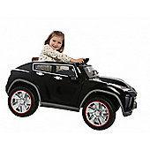 12V Ride On SUV Twin Car Black